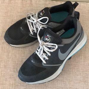 Nike N7 zoom running athletic blue black 9.5